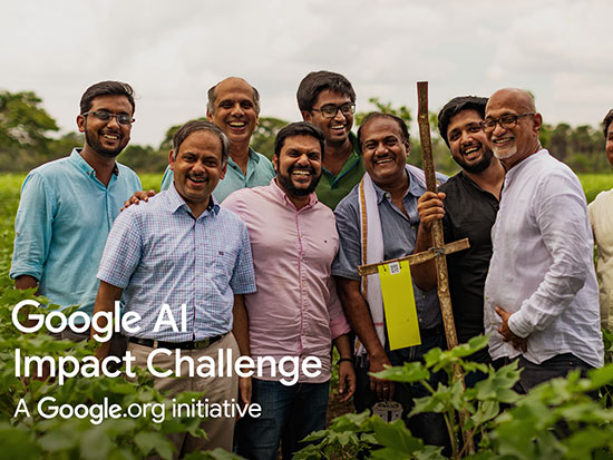 We are a Google AI Impact grantee